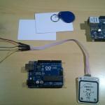 Rfid, Ethernet, Arduino Uno Rev3