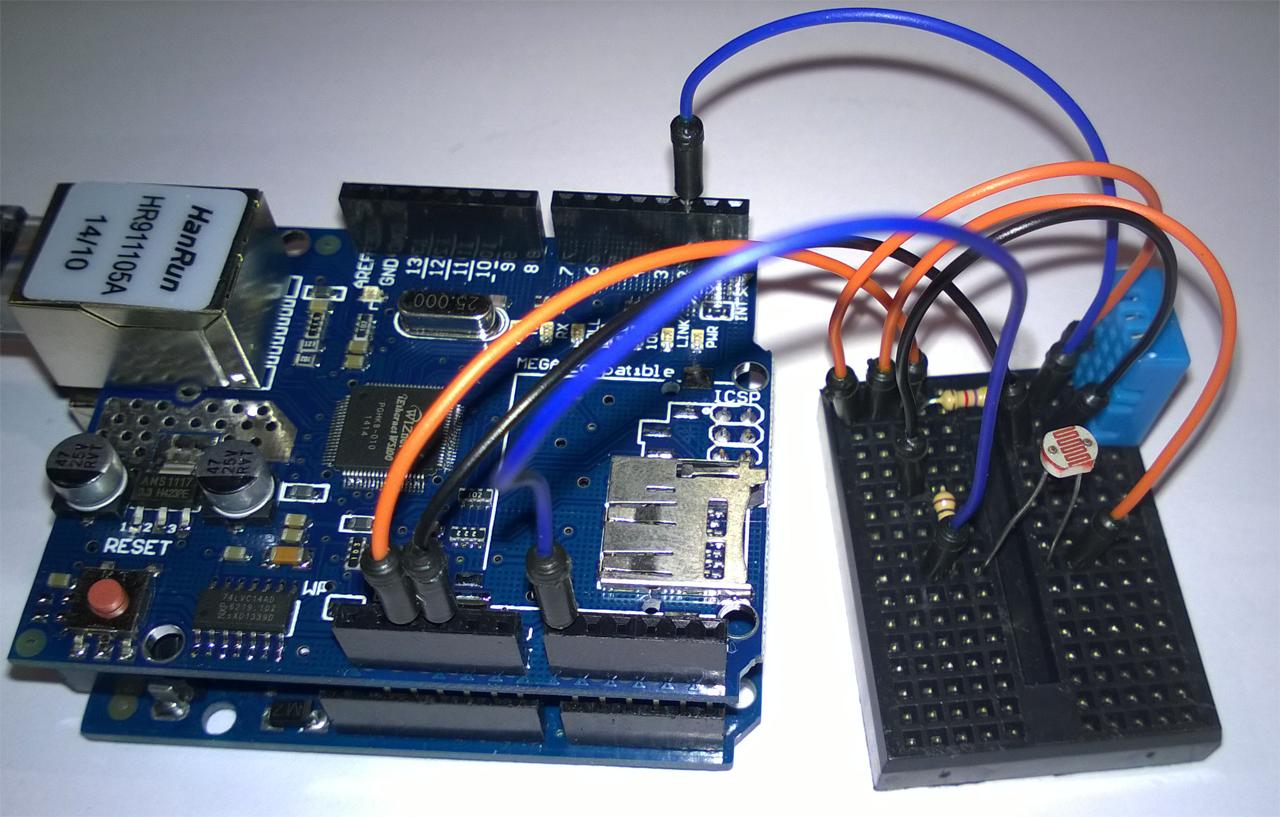 Arduino bygg en multisensor till vera