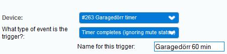 trigger timer
