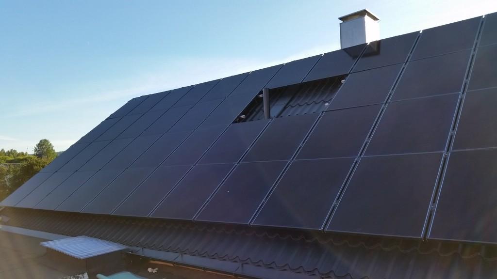 Solceller del 2, driftsättning