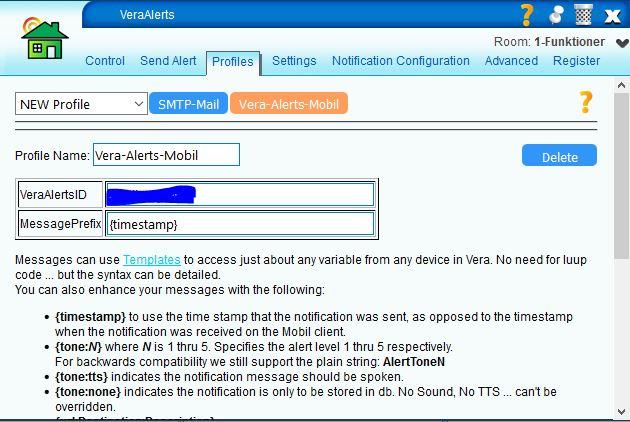 Send alert 2
