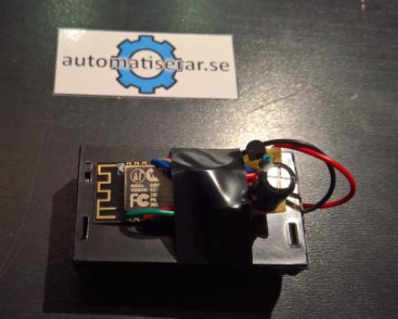 Projekt - ESP8266 Wifi Tempertursensor