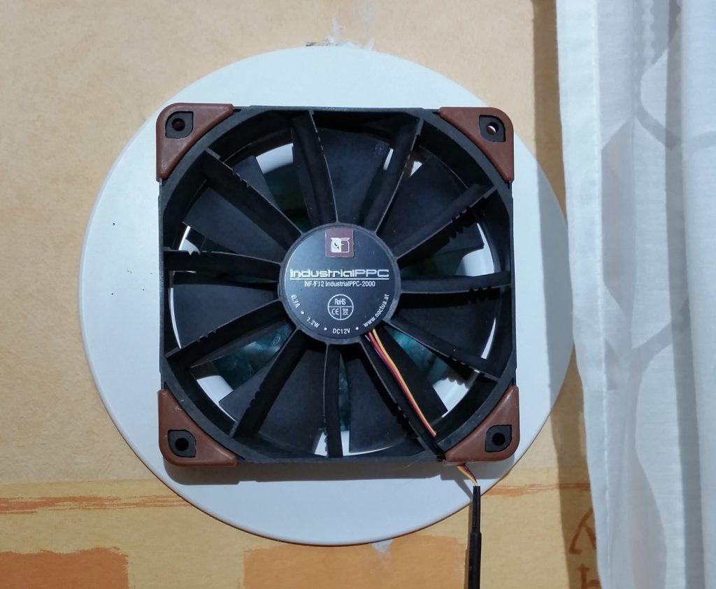 Automatiserad ventilation för självdrag