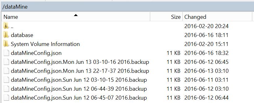 datamine_restore