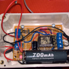 Solcell och batteri (LiFePO4) med wifi (ESP8266 12E)