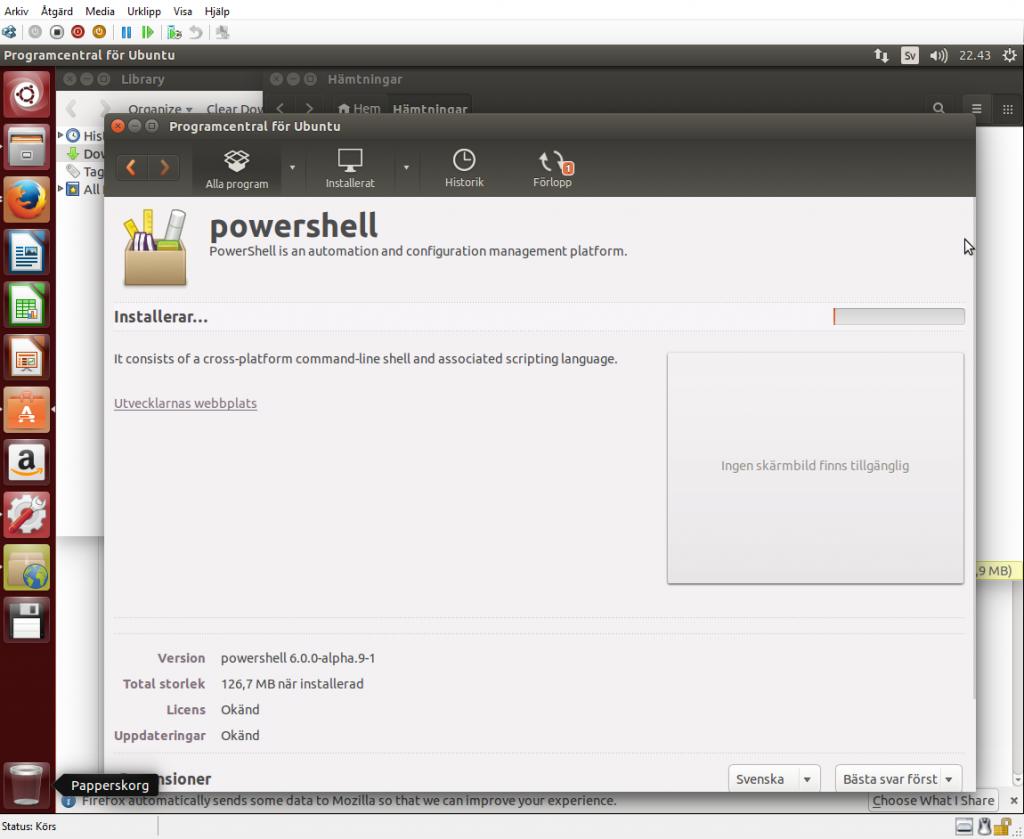 Installation av Powershell på Ubuntu 14