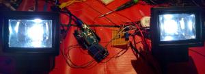 2st 10W ANSLUT LED lampor med PWM och arduino UNO