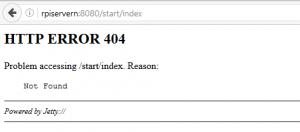 """fösta testet via Firefox till openhab på min """"RPIServern"""""""