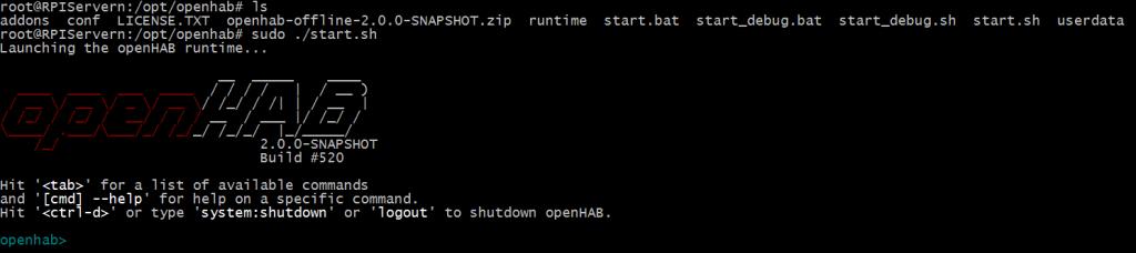 Raspberry Pi och OpenHAB