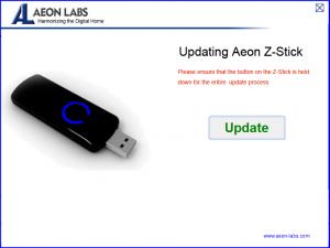 Aeon Z-Stick firmware uppgrade.