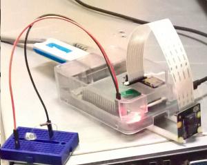 Raspberry PI som övervakningskamera