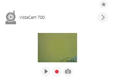 VistaCam 700 auto inkluderad i vera
