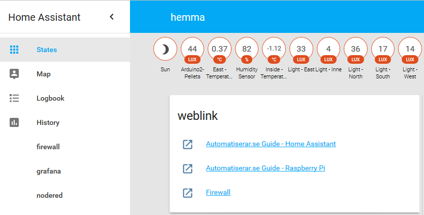 Guide - Home Assistant | Tips för smartare hem