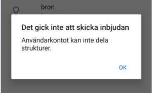Att bjuda in externa användare från min Google Apps domän gick inte när jag skrev detta.