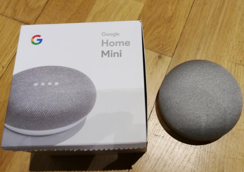 Ljudassistenten Google Home Mini introduceras i min hemautomation