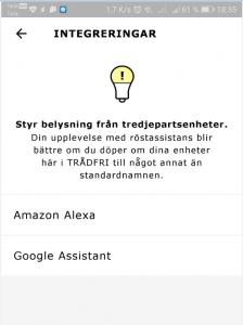 Koppla Google Assistant till Trådfri