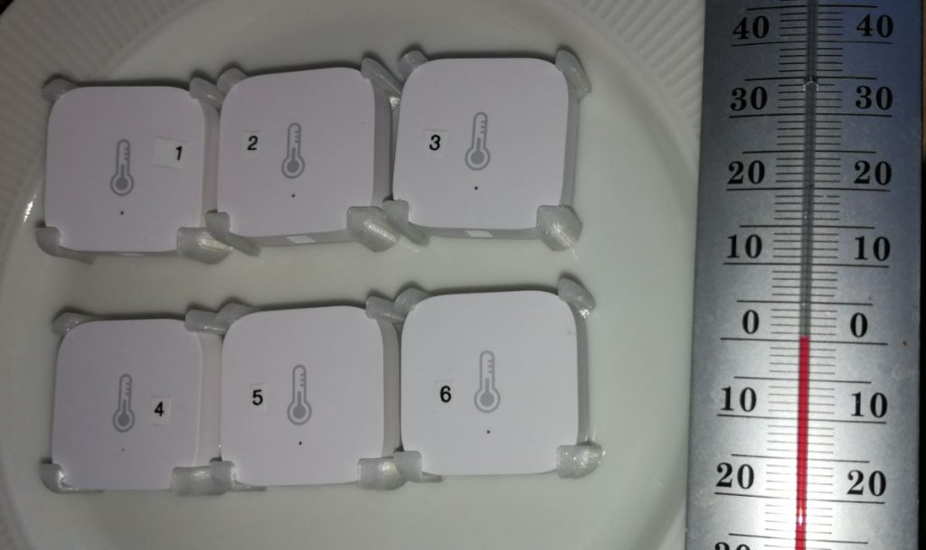 Jag testade här 6 sensorer med samma förutsättningar för att se hur mycket som skiljer dom åt.