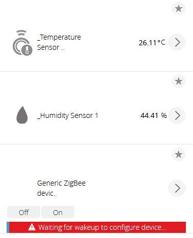Xiaomi Aqara uppdaterar status i vera