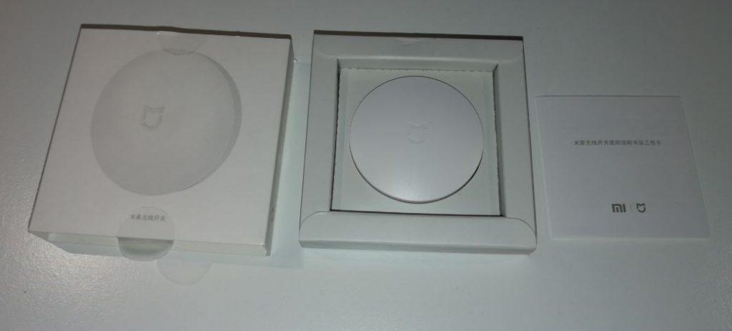 Xiaomi mijia wireless switch unboxing