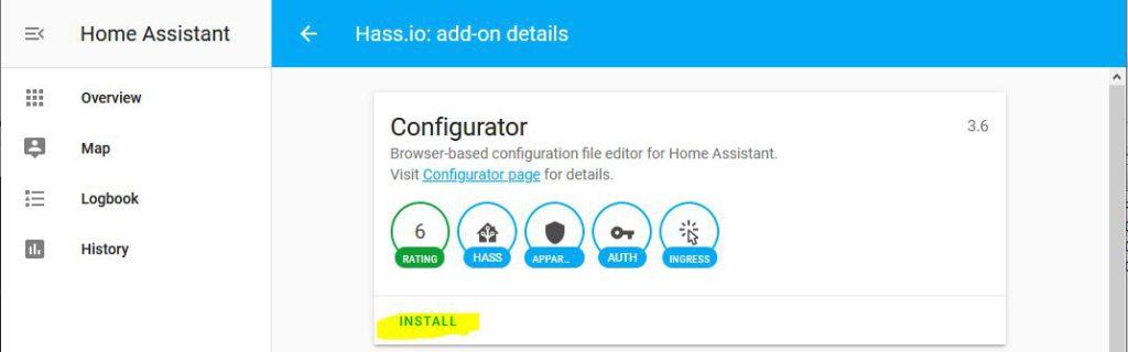 Installation av Configurator