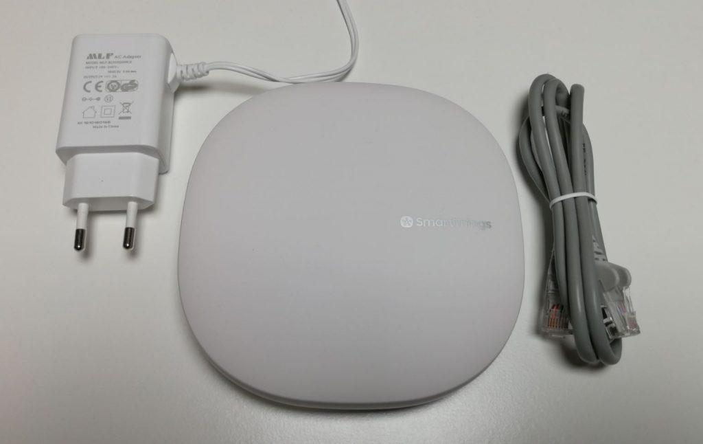 Följande ingår i Samsungs SmartThing V3 paket