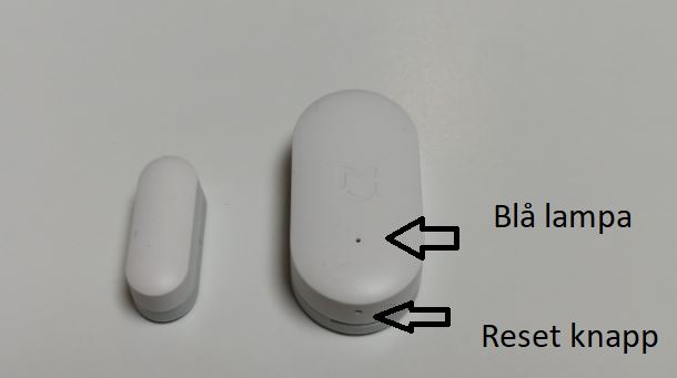 Xiaomi Mi Door Sensor with Homey